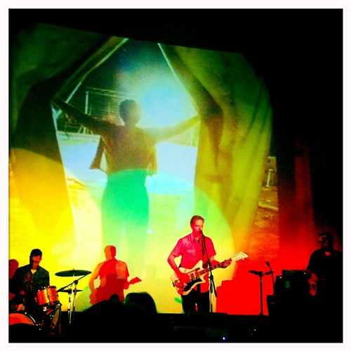 Calexico performing at The Loft cinema