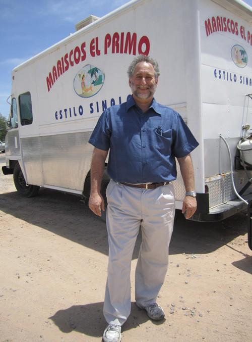Janos Wilder, food truck champion.